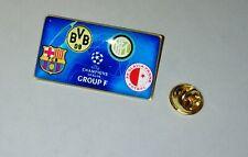 Fußball pin badge Barcelona - Borussia Dortmund - Inter - Slavia Praha 2019