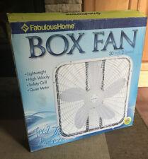 box fan 20 inch