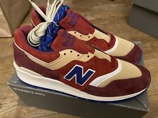 Deadstock New Balance 997 END Persian Rug Red M997END Size 13 Minor Flaw POP. 1