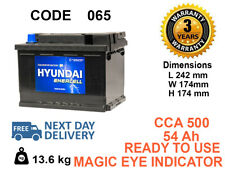 065 type Genuine OEM Car Battery 55ah 500cca FITS ALL CARS (BMW.BENZ.AUDI.FORD)