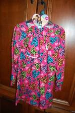 NWT Pink Heart WHAT A DOLL Nightshirt 10 12 & Matching Nightie Pjs Nightgown 18""
