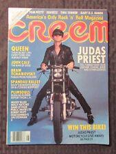 1981 CREEM Magazine v.13 #3 FVF Rob Halford JUDAS PRIEST Metal God QUEEN