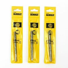 3 Dewalt 8mm, 9mm & 10mm x 120mm Hex Shank Masonry TCT Drill Bits. Germany