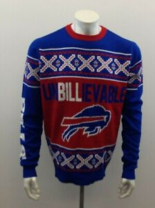 Buffalo Bills Unbilllievable Red/White And Blue BFL Team Apparel Large