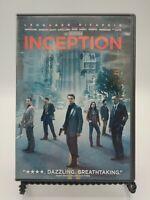 Inception (DVD, 2010) Leonardo DiCaprio, Ellen Page, Joseph Gordon-Levitt.