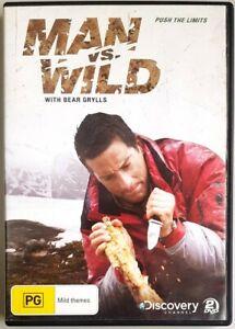 Man vs Wild - Push The Limits (2x DVD, 2010) Bear Grylls - GREAT condition (R4)