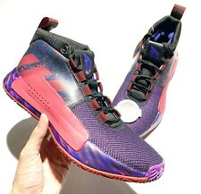 adidas Dame 5 Shine Together Red Scarlet G26134 Men's size 9