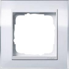 Gira Rahmen Abdeckrahmen Event 1fach 0211723 klar weiß / reinweiß Blende