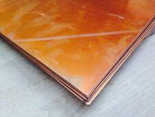 1mm Soft Copper Sheet 320mm x 320mm Square plate metal craft live steam model UK