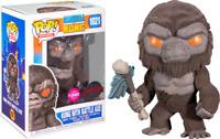 Kong with Scepter Flocked Godzilla Funko Pop Vinyl New in Box