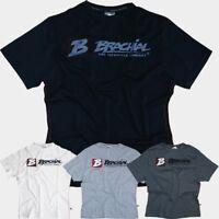 SALE Brachial Herren T-Shirt Sign next schwarz grau Fitness Bodybuilding