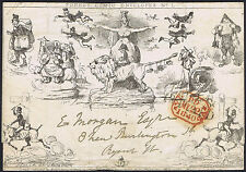 1840 22 May Fores Comic No 1 the EARLIEST ENGLISH CARICATURE
