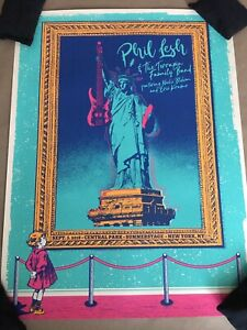 2018 Phil Lesh Central Park 9/5 New York NYC Concert Poster Grateful Dead S/N