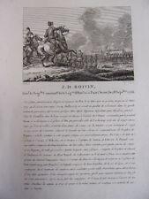 J.D BOIVIN Général de Brigade, Légion d'Honneur 1756