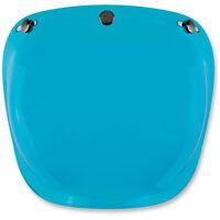 BILTWELL BULLE casque BUBBLE BLEU Visière bombée antibuée casques a 3 pressions
