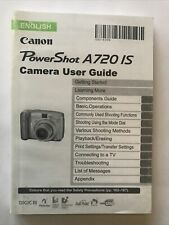 Canon Powershot A720is Manual