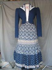 Victorian Dress Edwardian Costume Civil War Style Western Prairie