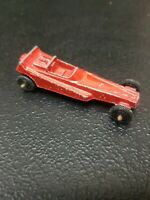 Vintage Tootsie Toy Red Dragster Drag Die Cast Metal Car USA