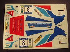 DECALS 1/43 PEUGEOT 306 MAXI -#8 - MONNET -RALLYE RÉGIONAL DES BAUGES 2010 AM021