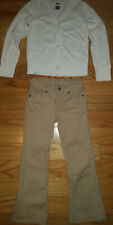 Girls Sonoma Pants Size 6x Reg And Old Navy Sweater Cardigan Size S/P 6-7