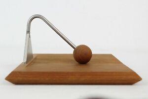 Vintage Danish Mid Century Modern Kircodan In-Line Teak Napkin Holder