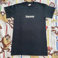 Supreme Black Box Logo T-Shirt Men's Small