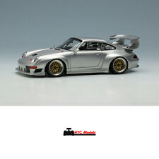 Make Up VISION 1:43 Porsche 911 (993) GT2 EVO 1996 VM130B Silver
