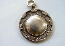 De Colección Reloj de plata esterlina ley 1928 completamente FOB/medalla
