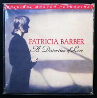 MFSL 2 LP  PATRICIA BARBER  * SEALED PROMO *  A DISTORTION OF LOVE    Audiophile