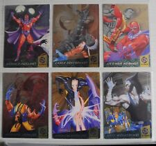 X-Men 1994 Fleer Ultra Fleer - 1994 Fatal Attractions PowerBlasts CHASE SET