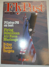 Fly Past Magazine Pilatus P2 On Test January 1983 040815R