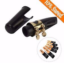 Alto Saxophone Mouth Piece + Riyin Box Of 10 Alto Saxophone Reeds 2½