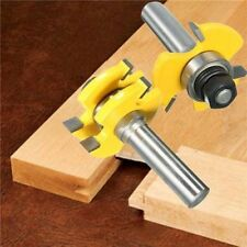 "2 Bit Tongue and Groove Router Bit Set - 1/4"" Shank fastshipping WA"