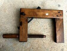n° 6 ) old tool, outil ancien, serre joint de menuisier, ébéniste