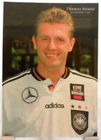 Thomas Strunz + Fußball Nationalspieler DFB + Fan Big Card Edition B376 +