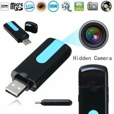 U8 USB Flash Disk Mini Spy Hidden Camera Camcorder DV DVR Motion Sensor Detector
