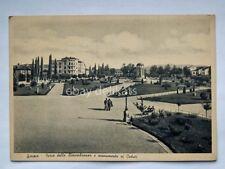 GORIZIA Parco Rimembranza vecchia cartolina