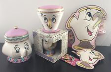 Disney Beauty And The Beast Chip Cup And Purse Bag Mrs Potts