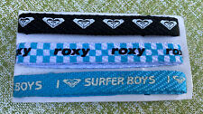 Vintage 90s Nos Roxy Surfer Surfing Shoelaces Set of 3, I Love Surfer Boys