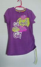 Cavi Purple Bling Girl's Top M