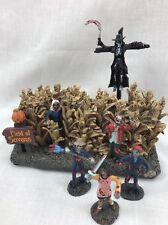 Grim Reaper Stalking Dead Village Field of Screams cornfield Hawthorne Vllage