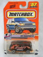 Matchbox 2000 Richie's Pizza VW Transporter NIB #57 of 100 NIP