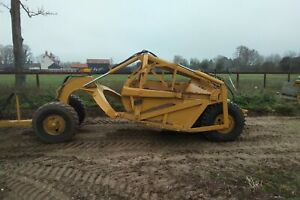 Earth Moving Scraper + Tractor- for hire