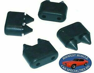 GM Chevy Buick Cadillac Pontiac Oldsmobile Rubber Door Bumpers Bump Stop 4pcs B