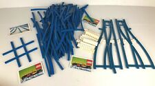 LEGO VINTAGE TRAIN HUGE LOT 4.5V TRACKS CROSS RAILS Switch Track