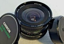 Cosina 20mm f/3.8 MC Wide Angle Prime Camera Lens Fits Canon FD Mount