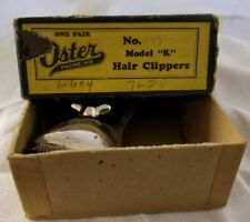 Oster Hair Clippers From 1920's With Box