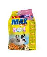 Kiki Max Menu Rabbit Baby Food for Rabbits Babies Rich in Fiber 1 Kg