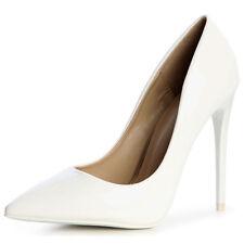 6a875035 Zapatos Mujer Charol de Tacón Encaje Tacones Aguja Básicos Fiesta Boda