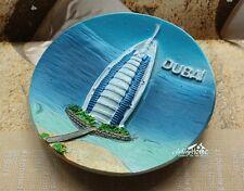 Burj Al Arab, DuBai, UAE Reiseandenken Souvenir 3D Polyresin Kühlschrankmagnete